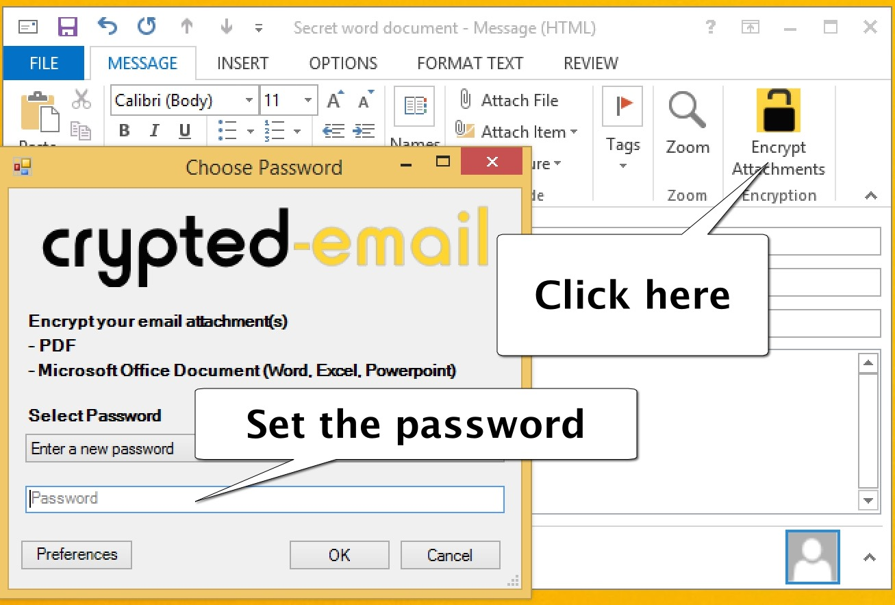 Encrypt Outlook Email >> Encrypt Outlook Email Encrypted Email